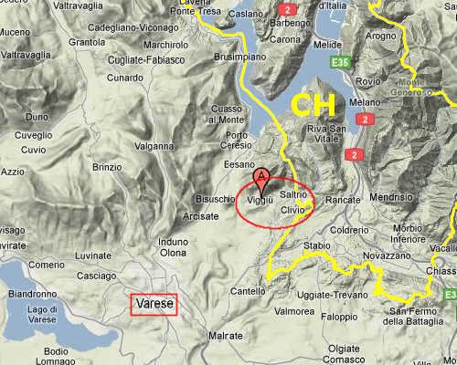 Mappa del territorio