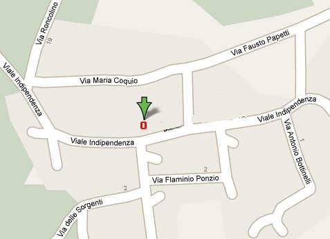 Mappa stradale
